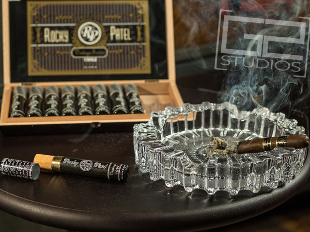 Product Photography, Pittsburgh, PA, Rocky Patel, Cigar Bar, Burn, Vintage 1992 Cigar, Smoking Cigar Photo, G2-Studios